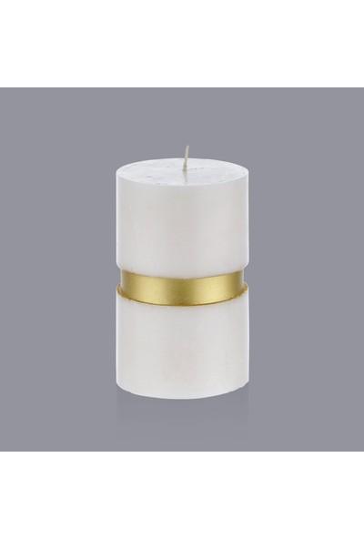 Hepsi Home Mum - Beton - 103189 - Ekru Gold - 7,5 x 12 cm