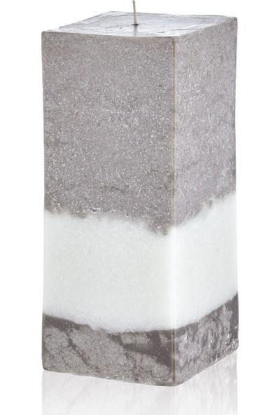 Hepsi Home Mum - Stone Line - 103175 - Ekru Vizon - 8 x 19,5 cm