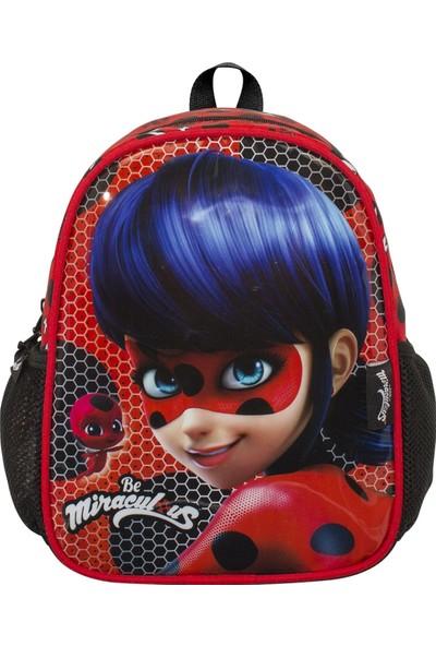 Ümit Çanta Ladybug Baskılı Kırmızı Anaokulu ve Günlük Sırt Çantası 2141