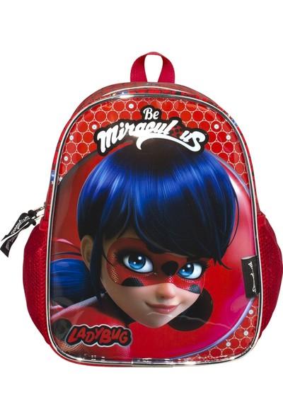 Ümit Çanta Miraculous Ladybug Baskılı Kız Çocuk Anaokulu Sırt Çantası 2145