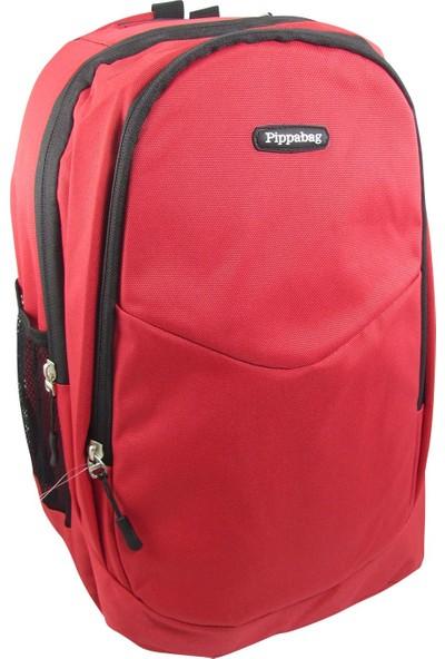 Pippa P30 Iki Bölmeli Kırmızı Okul Sırt Çantası - Mini Bölmeli