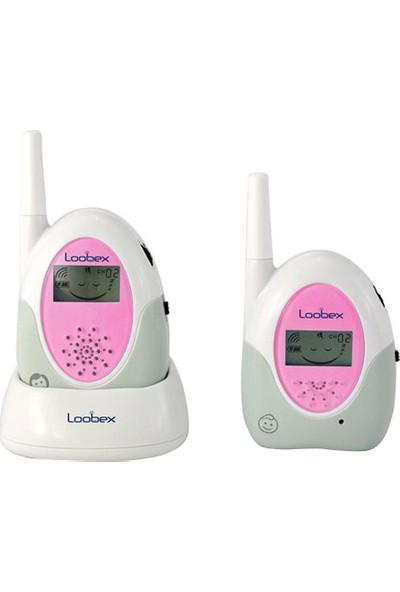 Loobex Lbx-2615 Lcd Ekranlı Bebek Dinleme Telsizi Pembe