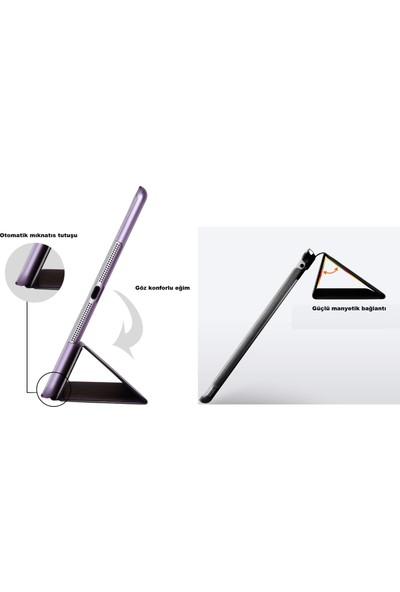 EssLeena Samsung Galaxy Tab S4 Sm-T830/T835 PlusTech Smart Case Tablet Kılıfı 10.5 İnç Beyaz