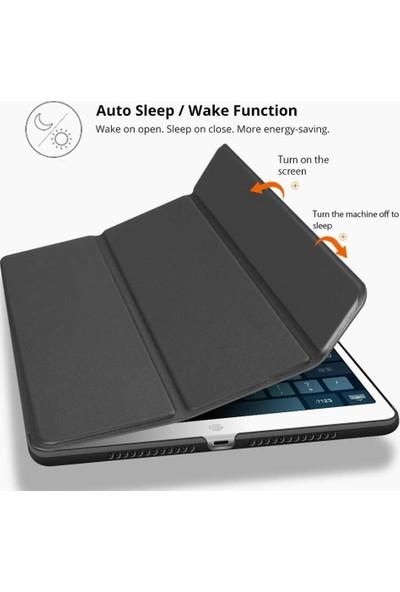 EssLeena Apple iPad Pro 12.9 1.Nesil (2015) PlusTech Smart Case Tablet Kılıfı 12.9 İnç (A1584/A1652) Siyah