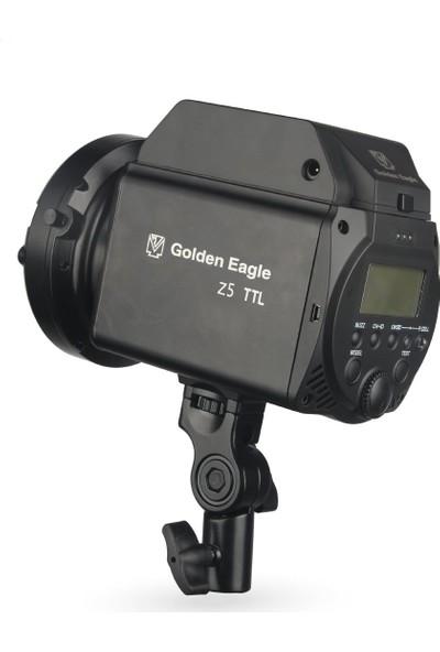 Golden Eagle Z5 500W Ttl Taşınabilir Paraflaş Kit 1/8000