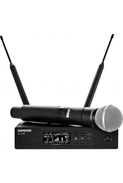 Shure QLXD24/SM58 El Tipi Telsiz Mikrofon Seti