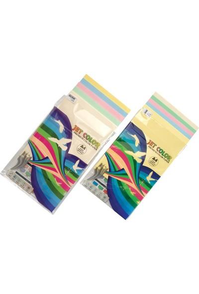 Jet Color NE3025 Renkli Kağıt A4/80-50 Li 10X5