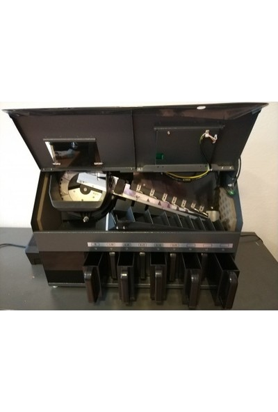 Lince 90C 8+1 Gözlü Sahte Kontrollü Madeni Para Sayma Makinesi