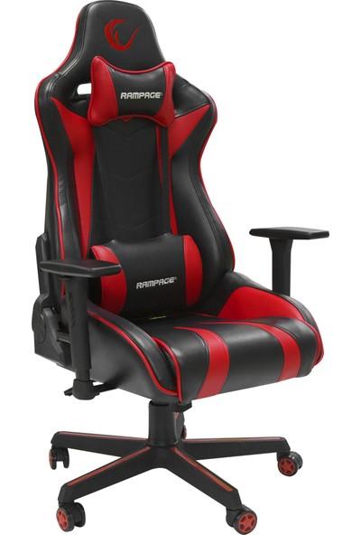 Rampage KL-R78 Gaming Oyuncu Koltuğu Kırmızı/siyah
