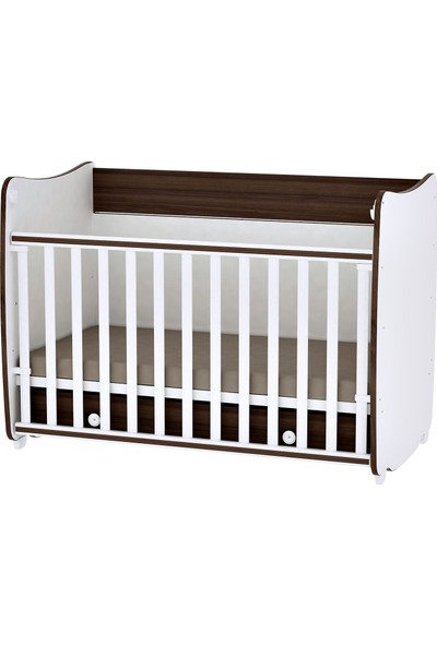 Lorelli Dream 60 x 120 cm Bebek Mobilyası Karyola White Walnut