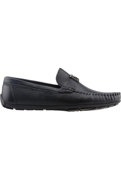 Bigtorres 1839 Günlük %100 Deri Erkek Ayakkabı Siyah