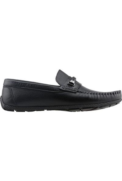 Bigtorres 1847 Günlük %100 Deri Erkek Ayakkabı Siyah