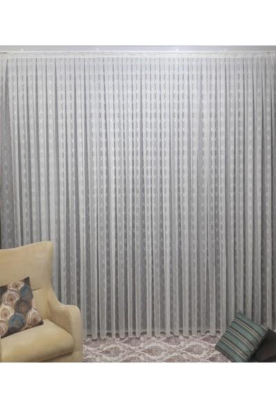 Taç Tül Perde Lilyum 100 x 180 cm 1/2,5 Pile