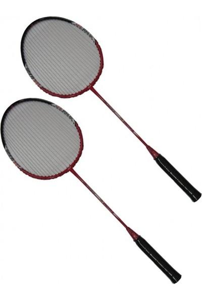 Vertex Advance Badminton Raketi 2'Liset + Kılıf Kırmızı