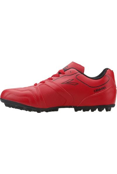 Lig Ceyhan Hm Halı Saha Erkek Spor Futbol Ayakkabısı Kırmızı
