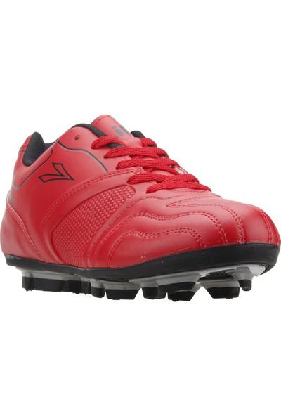Lig Ceyhan Km Çim Saha Krampon Erkek Spor Futbol Ayakkabısı Kırmızı