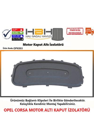 Opel Corsa Motor Kaput Altı izolatörü (2015-2020 Arası)