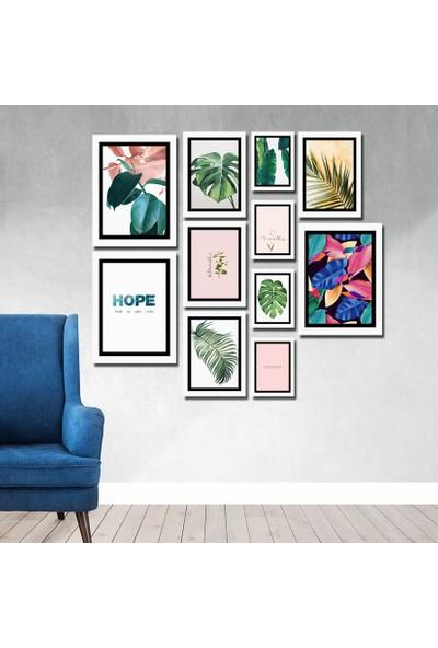 Cadran Luxury Modern Home Dekoratif 11 Parçalı Mdf Tablo CNA077