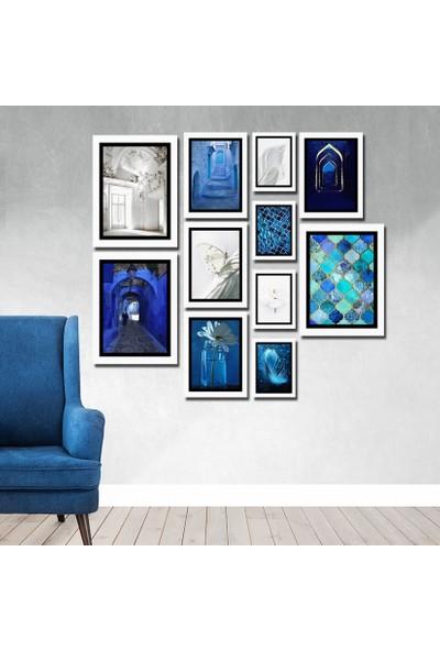 Cadran Luxury Modern Home Dekoratif 11 Parçalı Mdf Tablo CNA083