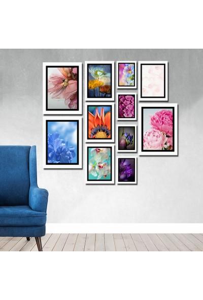 Cadran Luxury Modern Home Dekoratif 11 Parçalı Mdf Tablo CNA019