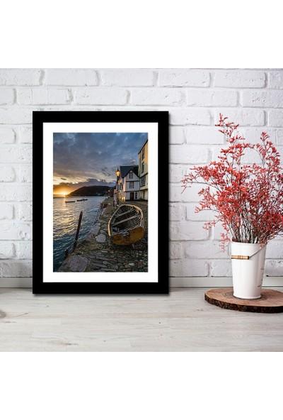 Cadran Luxury Art Collection Dekoratif 30 x 40 cm Mdf Tablo AVD266