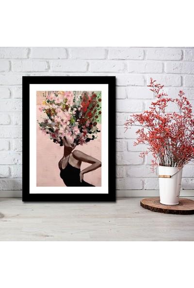 Cadran Luxury Art Collection Dekoratif 30 x 40 cm Mdf Tablo AVD255