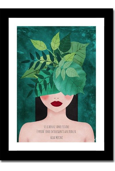 Cadran Luxury Art Collection Dekoratif 30 x 40 cm Mdf Tablo AVD397
