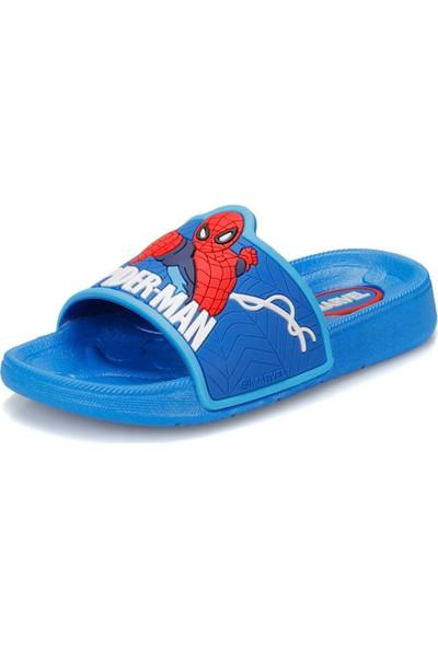 Spiderman 91.Dıno-1.P Mavi Erkek Çocuk Terlik