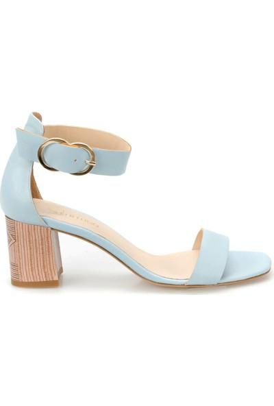 Butigo 19S-078 Açık Mavi Kadın Sandalet