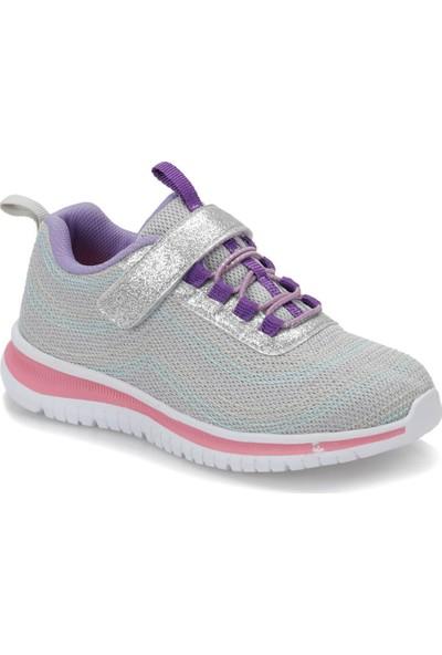 I Cool Ornate Gri Kız Çocuk Yürüyüş Ayakkabısı