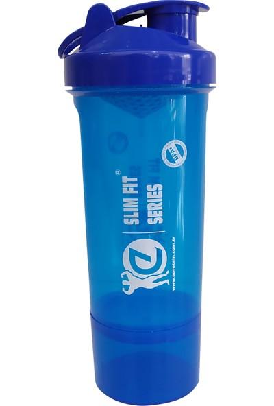 Eproteın Slım Fıt Serıes Fıtness Shaker 400 ml Mavi