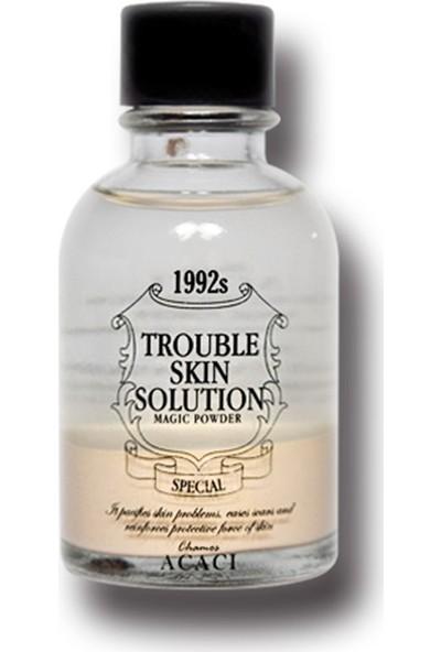 Chamos Acaci Trouble Skin Solution Magic Powder - Problemli Ciltler Için Serum - Mucize Toz