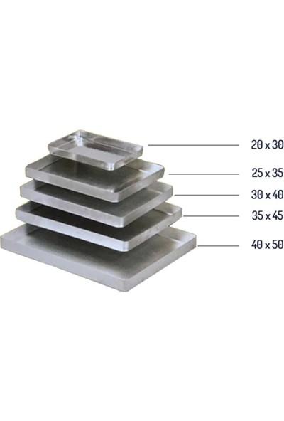Alüminyum Köşeli Baklava Tepsisi 1000 gr
