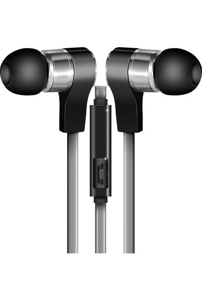 Coby CVE-130-SLV Wavs Mikrofonlu Kulakiçi Kulaklık