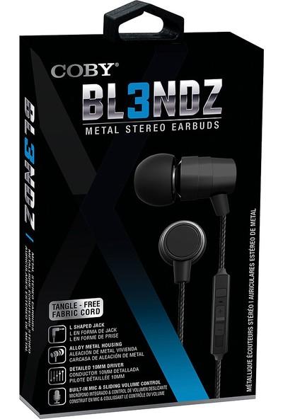 Coby Cvpe-09-Blk BL3NDZ Mikrofonlu Kulakiçi Kulaklık