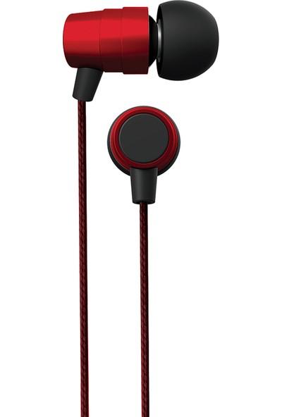 Coby Cvpe-09-Red BL3NDZ Mikrofonlu Kulakiçi Kulaklık