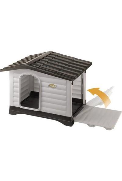 Doglife Villa 111 Plastik Köpek Kulübesi Kapılı 111X84X80 Cm