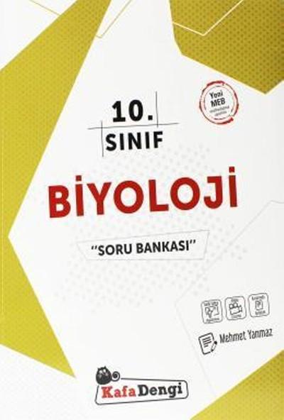 Kafa Dengi Yayınları Yayınları 10. Sınıf Biyoloji Soru Bankası 2019