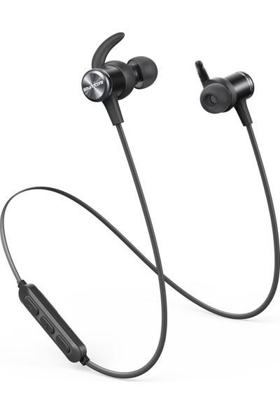 Anker SoundCore Spirit Kablosuz Bluetooth 5.0 Spor Kulaklık - IPX7 Suya Dayanıklılık - 8 Saate Varan Şarj - Siyah - A3403