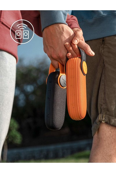 Anker SoundCore Icon Suya Dayanıklı Bluetooth Hoparlör Siyah - IP67 - 12 Saat Çalma Süresi - 10 Watt Ses Bombası - A3122