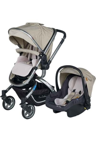 Pierre Cardin Twist +Plus Travel Sistem Bebek Arabası Bej