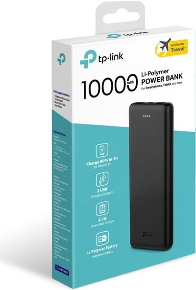 TP-Link TL-PB10000 10000mAh Li-Polymer Powerbank