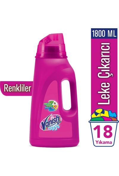 Vanish Kosla Oxi Action Pembe Sıvı Leke Çıkarıcı 1800 ml