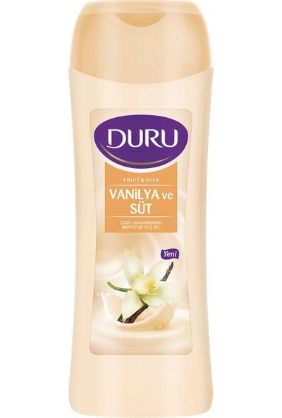 Duru Fruit & Milk Vanilya ve Süt Duş Jeli 450 ml
