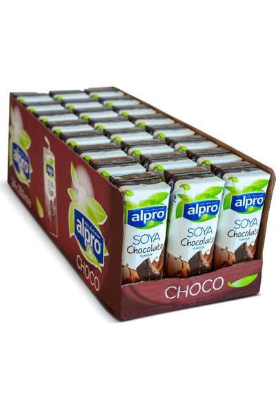 Danone Alpro Çikolata Aromalı Soya Sütü 250 ml 24'lü