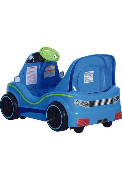 RollPlay W407 Dizzy Driver Akülü Araba 6V - Mavi