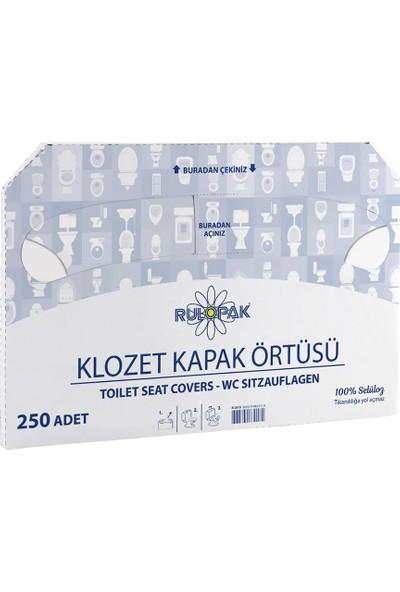Rulopak Klozet Kapak Örtüsü 20X250