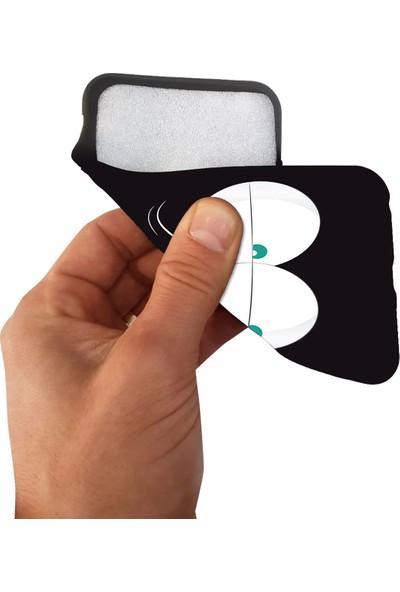 Teknomeg LG G4 Siyah Ruber Mavi Göz