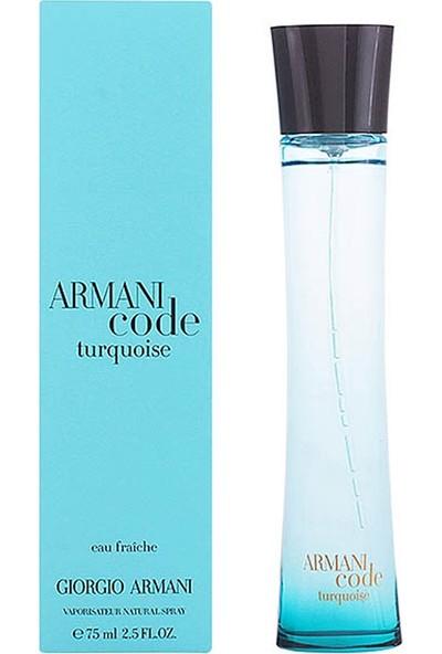 Giorgio Armani Code Turquoise Eau Fraiche Kadın Parfüm Edt 75 Ml