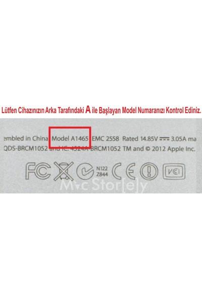 "Macstorey Apple Macbook Pro Retina Air Q Klavye Koruyucu Kapağı Silikonlu Kılıf US Amerikan İngilizce 13"" 15"" 17"" 334"